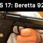 SHS 17: Beretta 92a1