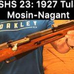 SHS 23- 1927 Tula Mosin-Nagant Rifle