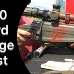 Range Construction- 600 Yard Test