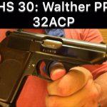 SHS 30 – Walther PPK 32ACP