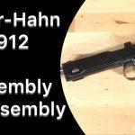 Steyr-Hahn 1912 Disassembly