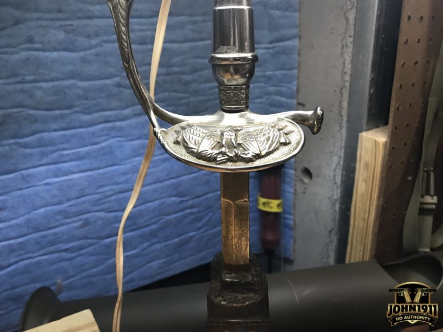 General Garnett's Sword (Lamp) Project