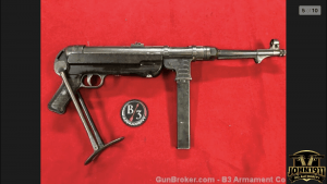 German MP40 Sale Price Machine-gun