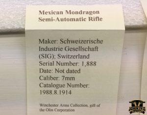 Mexican Mondragon Semiauto Rifle
