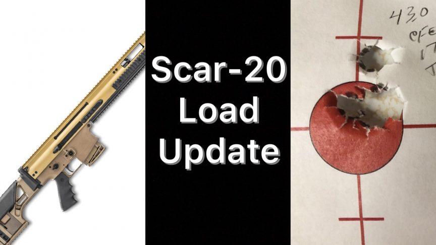 SCAR-20 Load Data 175g SMK