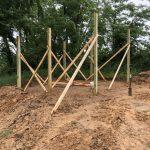 Rifle Range Picnic Shelter Construction