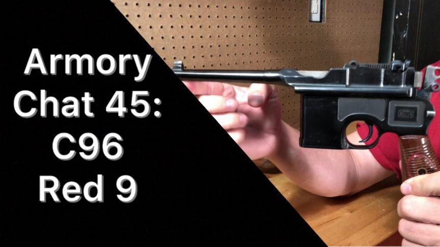C96 Red 9 Mauser
