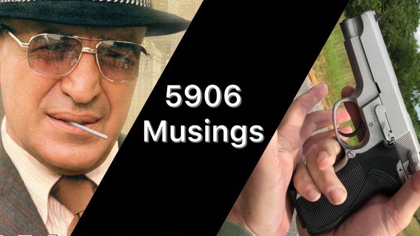 Shooting S&W 5906 Pistol