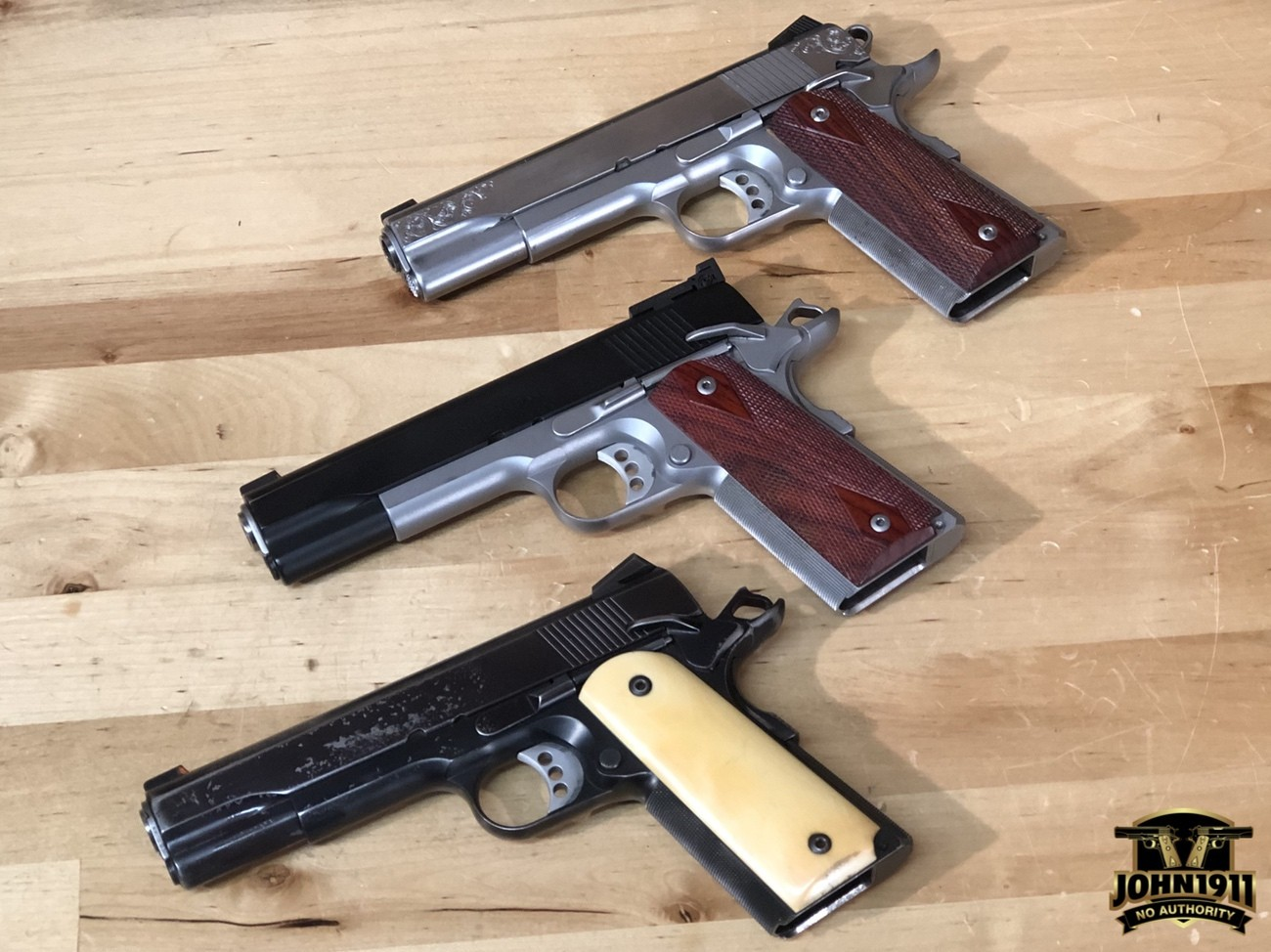 Ed Brown 1911. Executive Elite. Executive Target. Stainless Class A Limited.