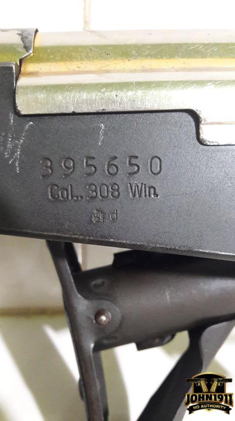 308 Caliber Valmet AK Rifle in Mexico