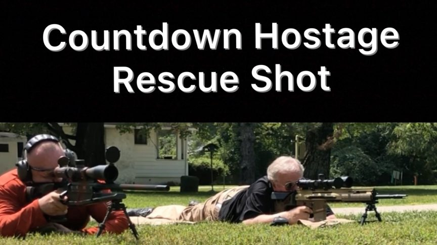 Countdown Hostage Rescue Shot. SWAT Training.