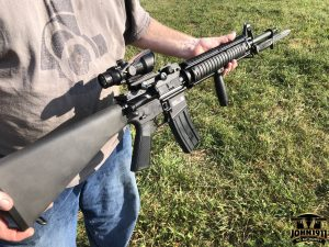 Freeze Holds the M16a4 FN Military Collector