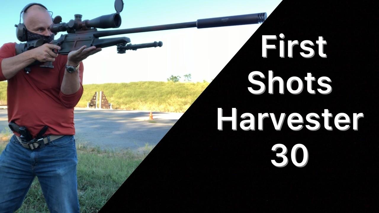 First Shots Harvester 30 Suppressor Silencerco