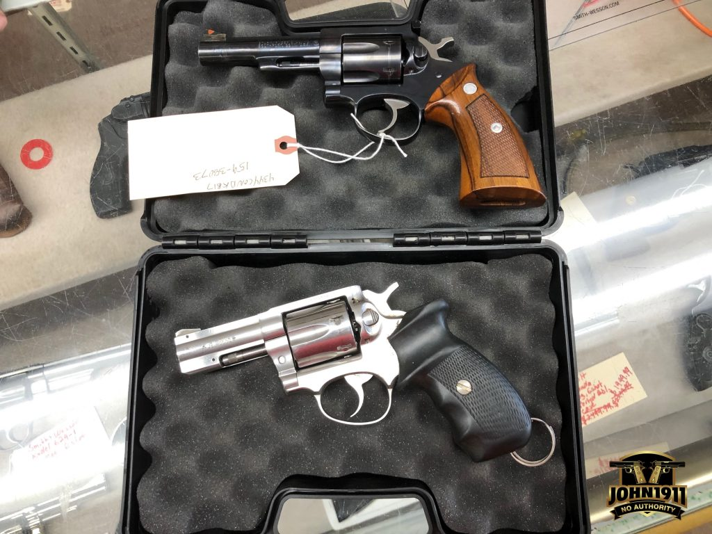Manurhin MR88 vs Ruger Security Six