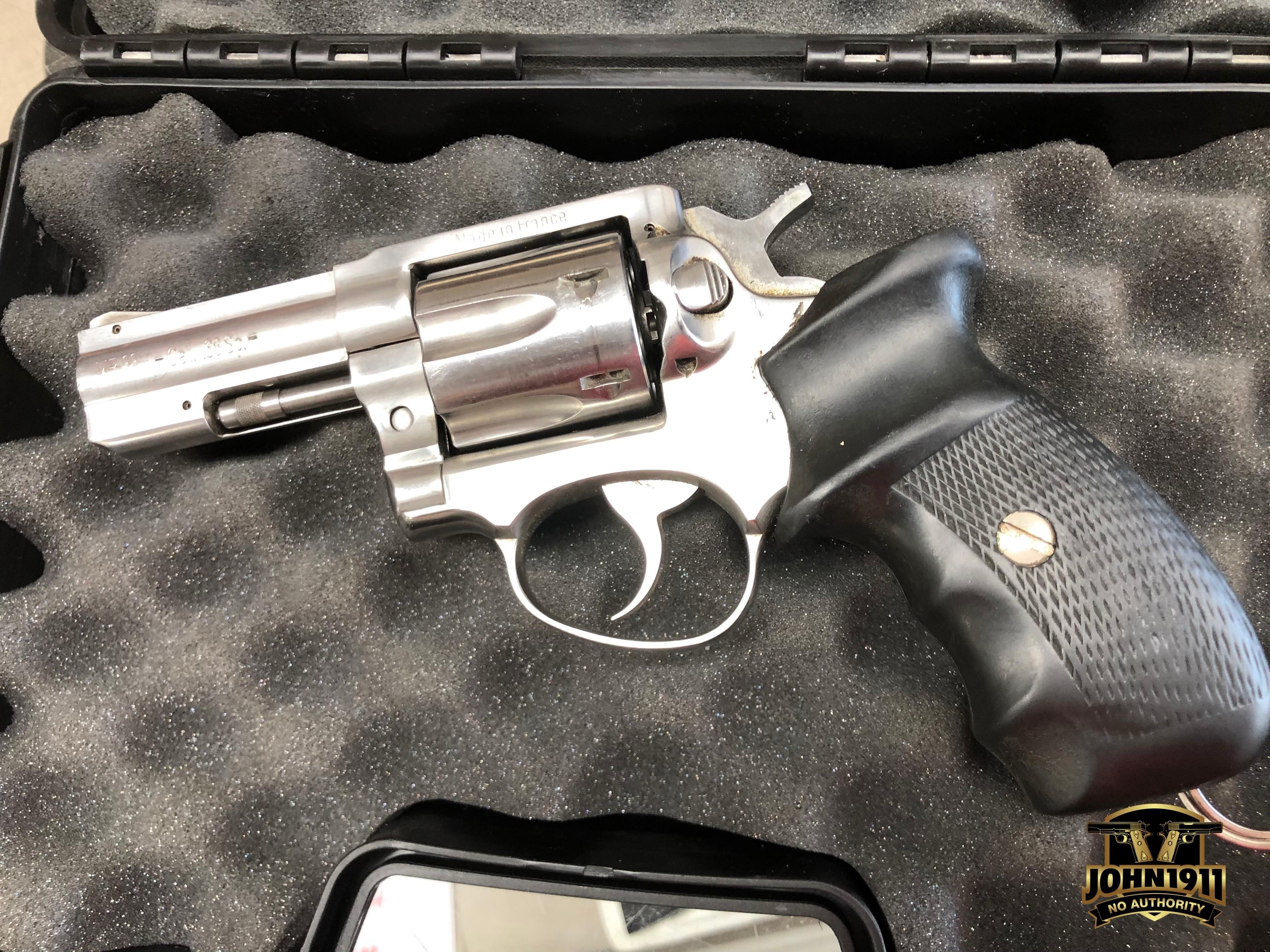 Manurhin MR88 38 Caliber Revolver.