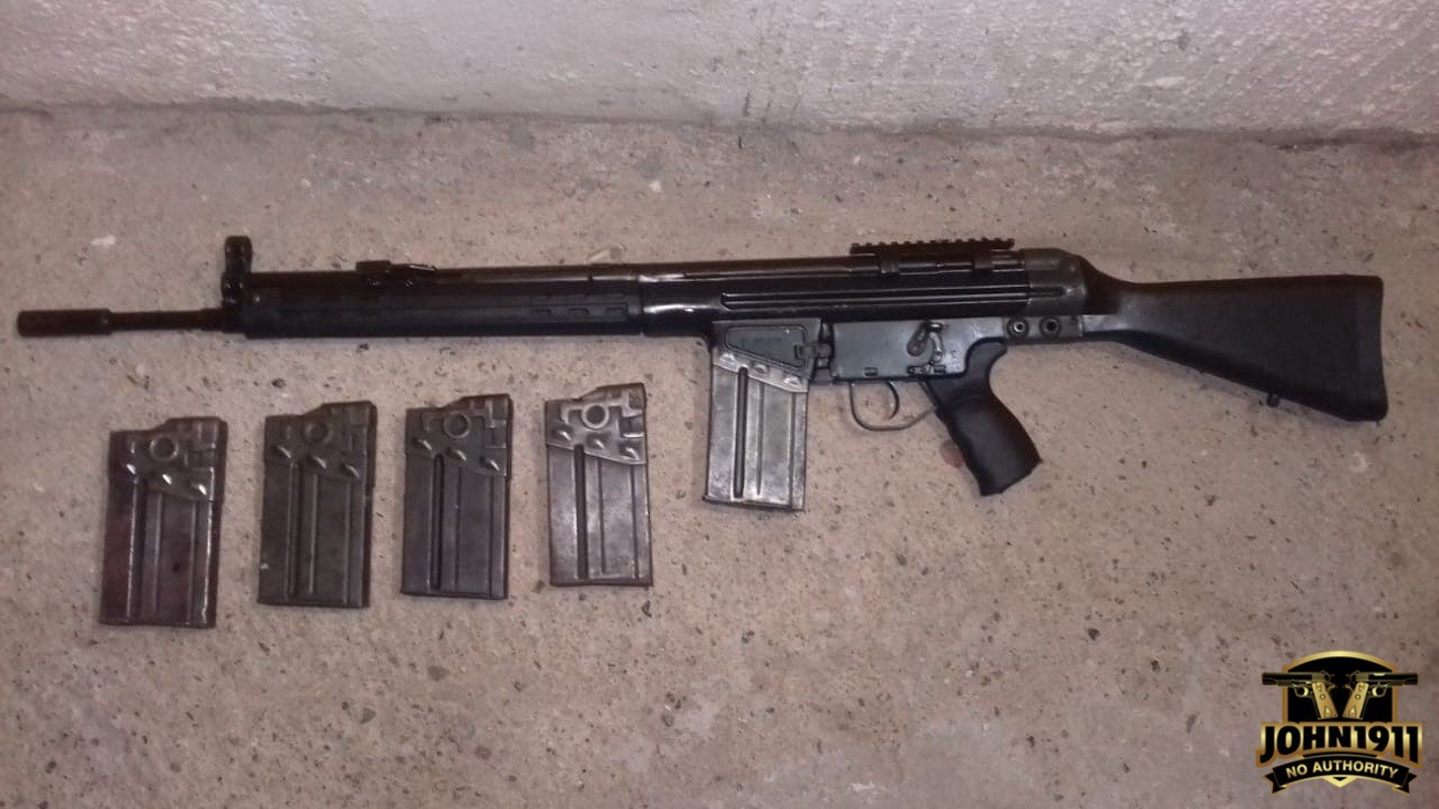 Privately owned Mexican G3. Mexican Gun Collector. Mexican gun collection.