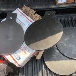 """Superior Ideas Steel Targets. 10"""" plate."""