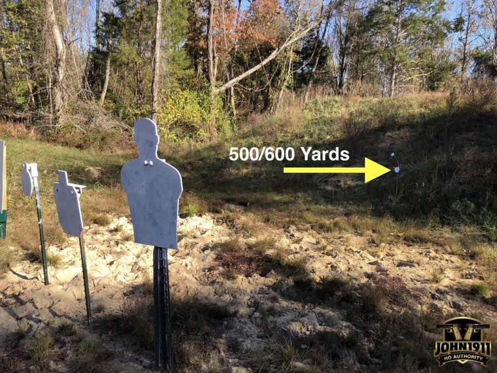 4 Steel Plate 450 - 500- 600 Yards