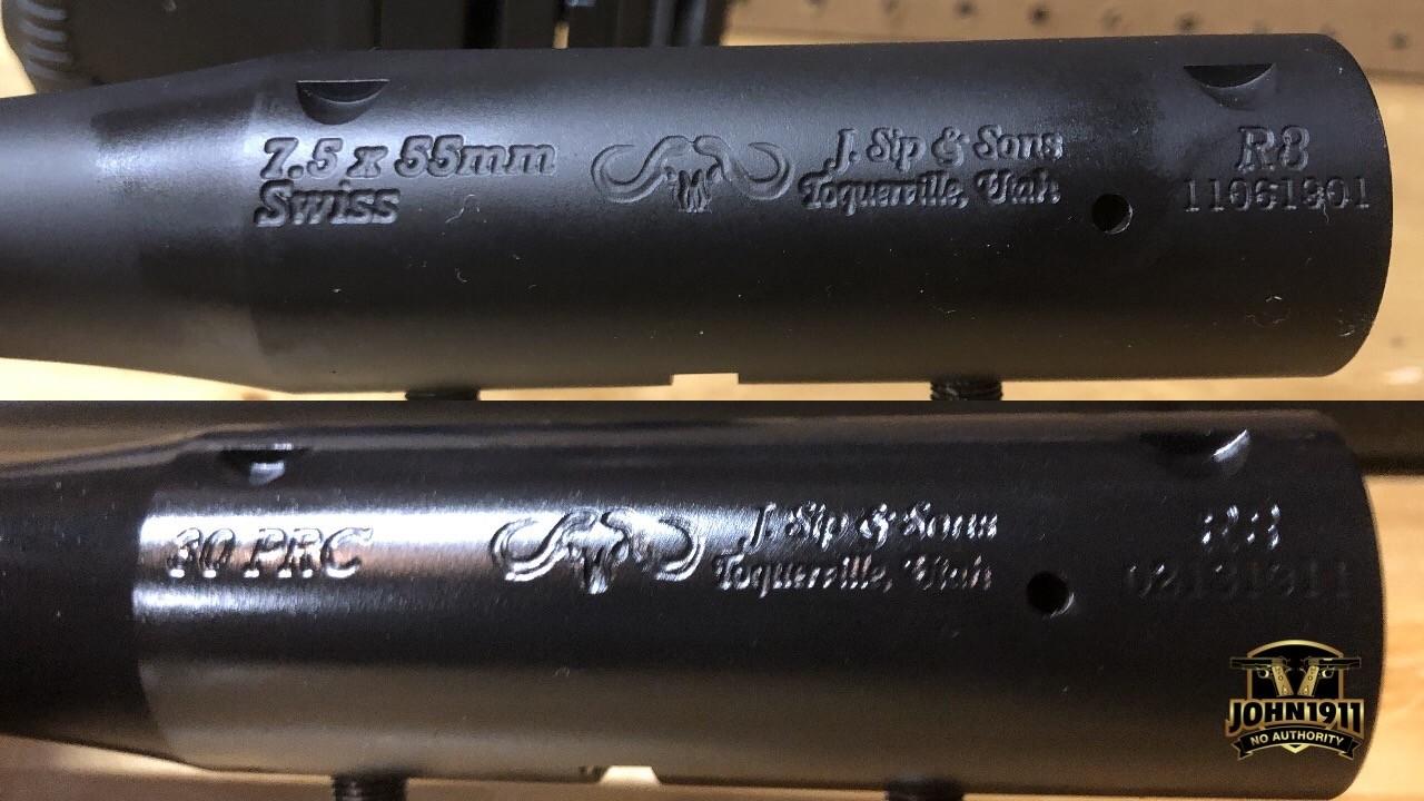 J Sip & Sons 300PRC 75 Swiss Barrels