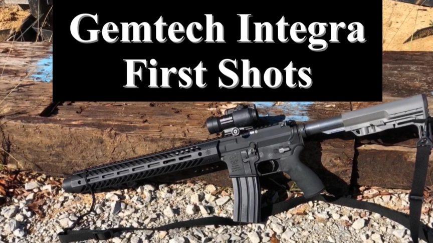 Gemtech Intergra Suppressed Upper.