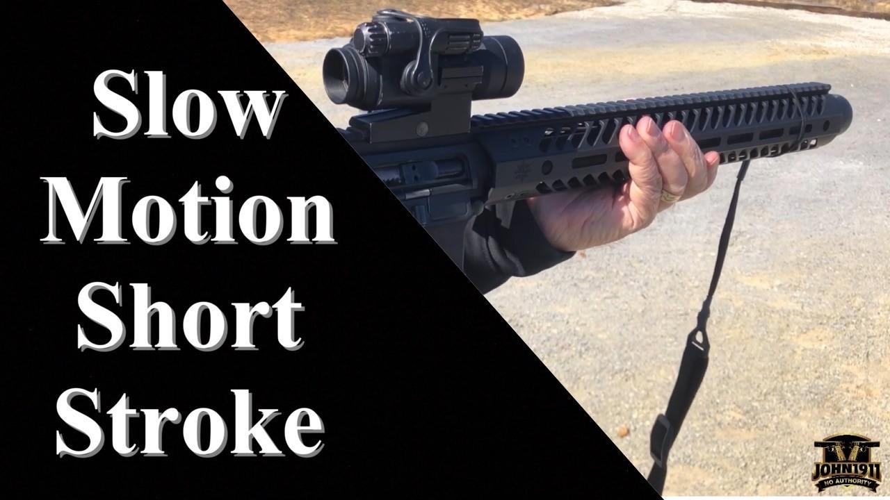 Slow Motion Short Stroke