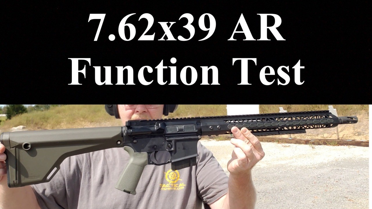 AR-47 Function Test.