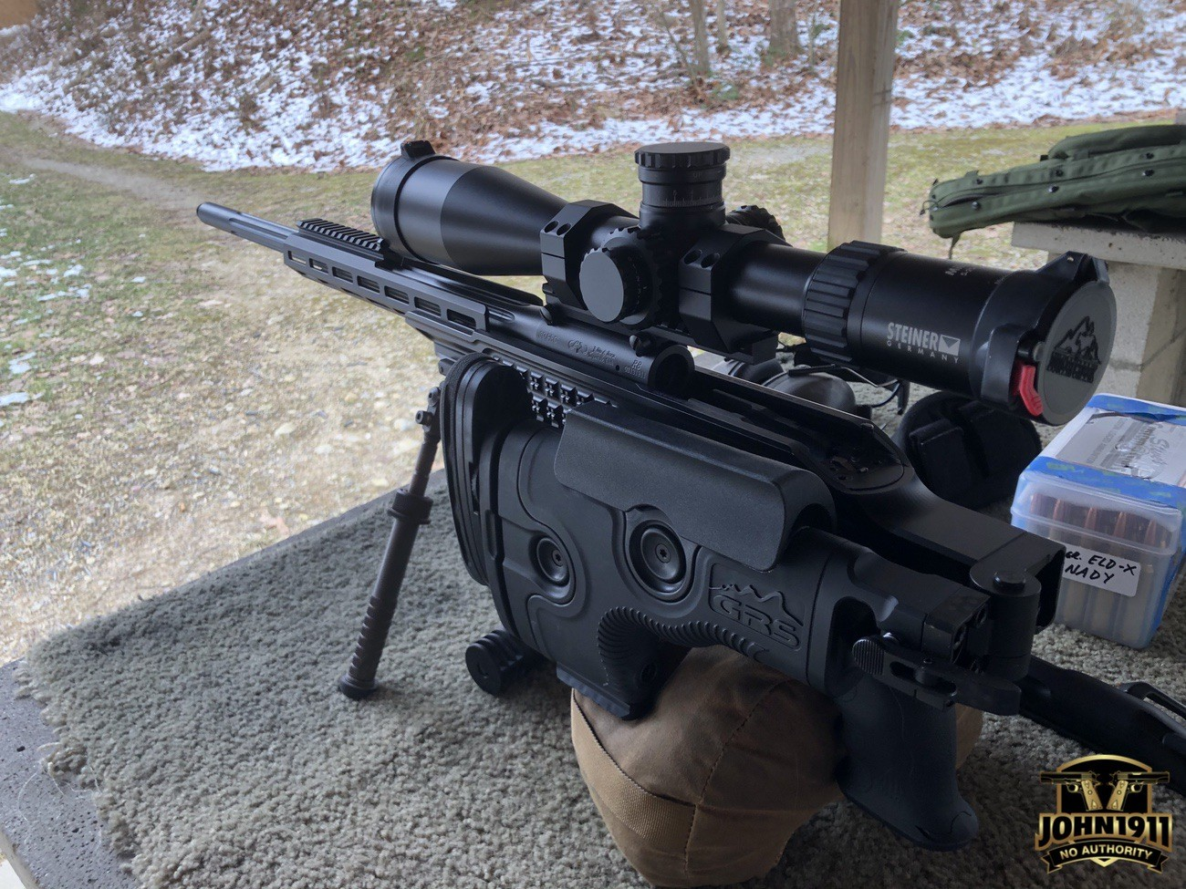 POTD - Bore Sighting a Rifle