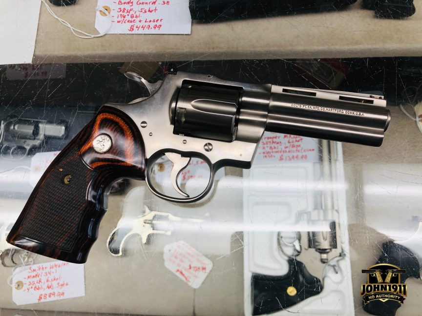 POTD - Another Colt Python 1