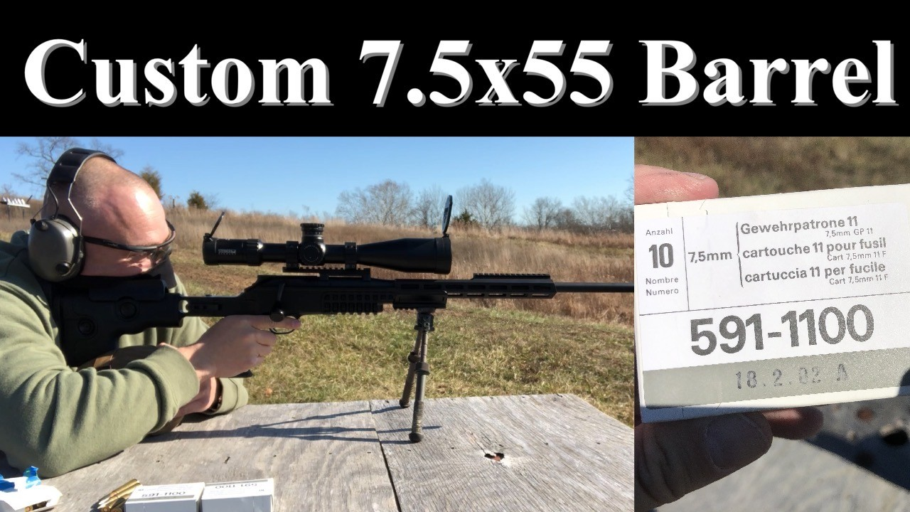 Custom 7.5 Barrel. Blaser R8. GRS Ragnarok. J. Sipp & Sons.