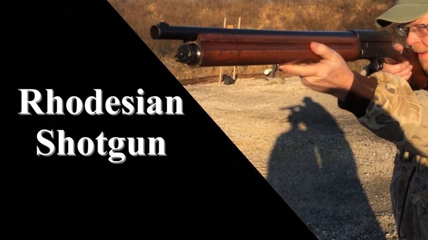 Rhodesian A5 Shotgun.