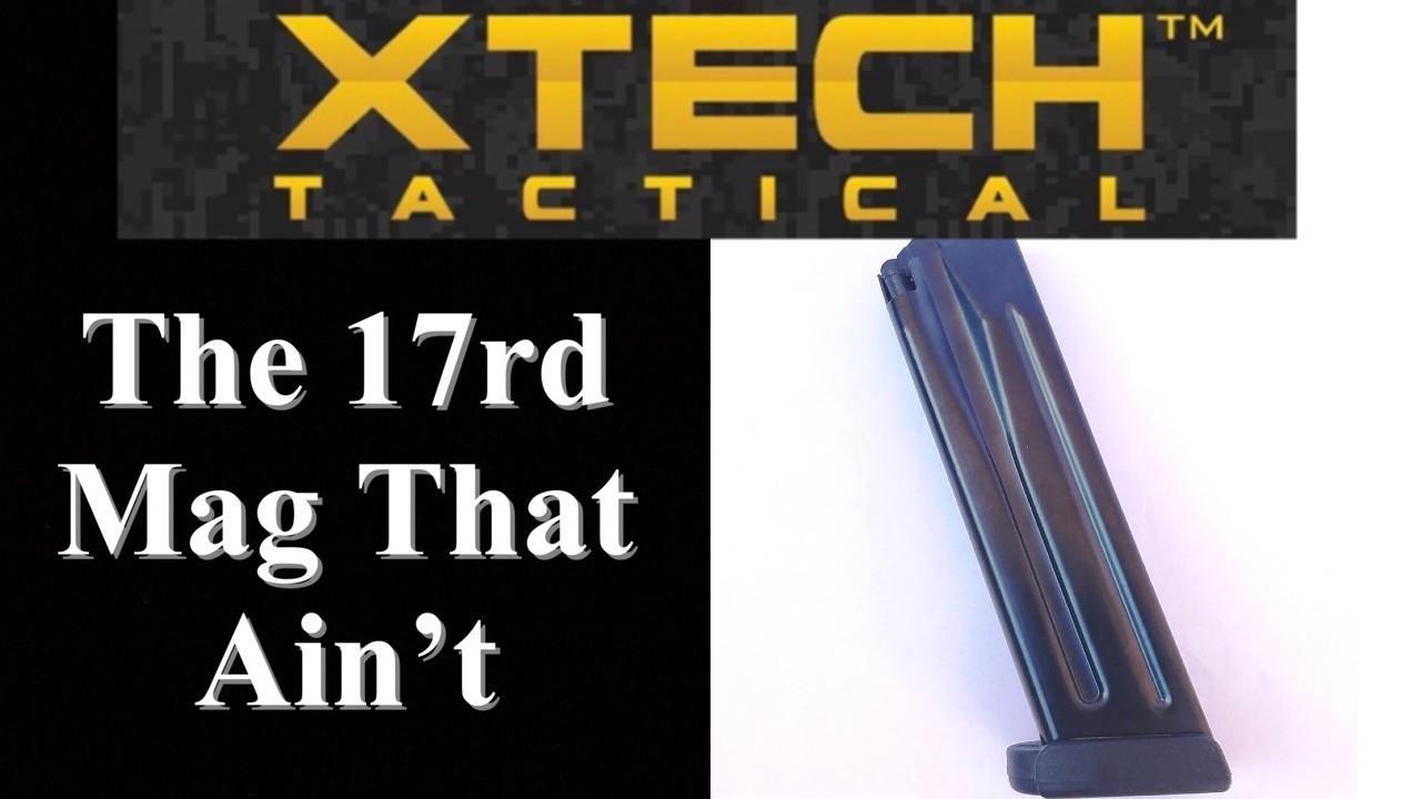 Xtech 17rd magazine Test