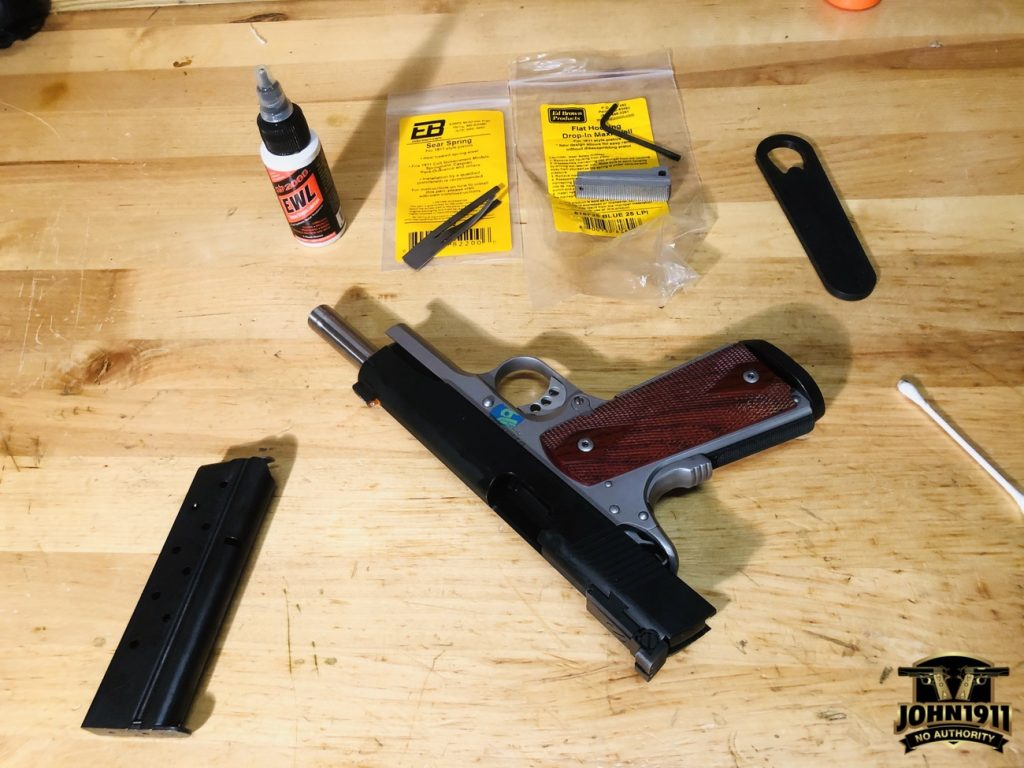 Ed Brown 9mm 1911 Magwell Install
