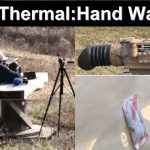 Zeroing Thermal Scope With Hand-Warmer