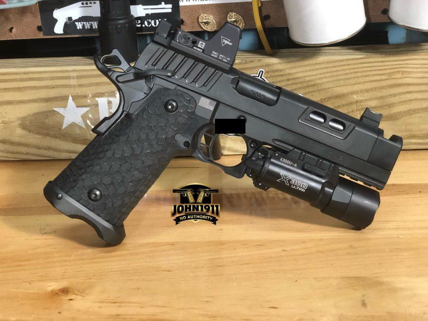 STI DVC-P 2011 9mm Pistol.