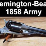 Beals-Remington 1858 Army Model Revolver