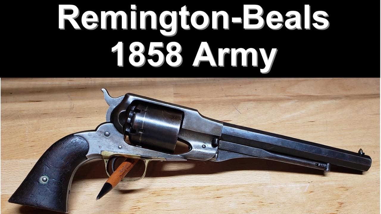 1858 Remington-Beals Army Revolver