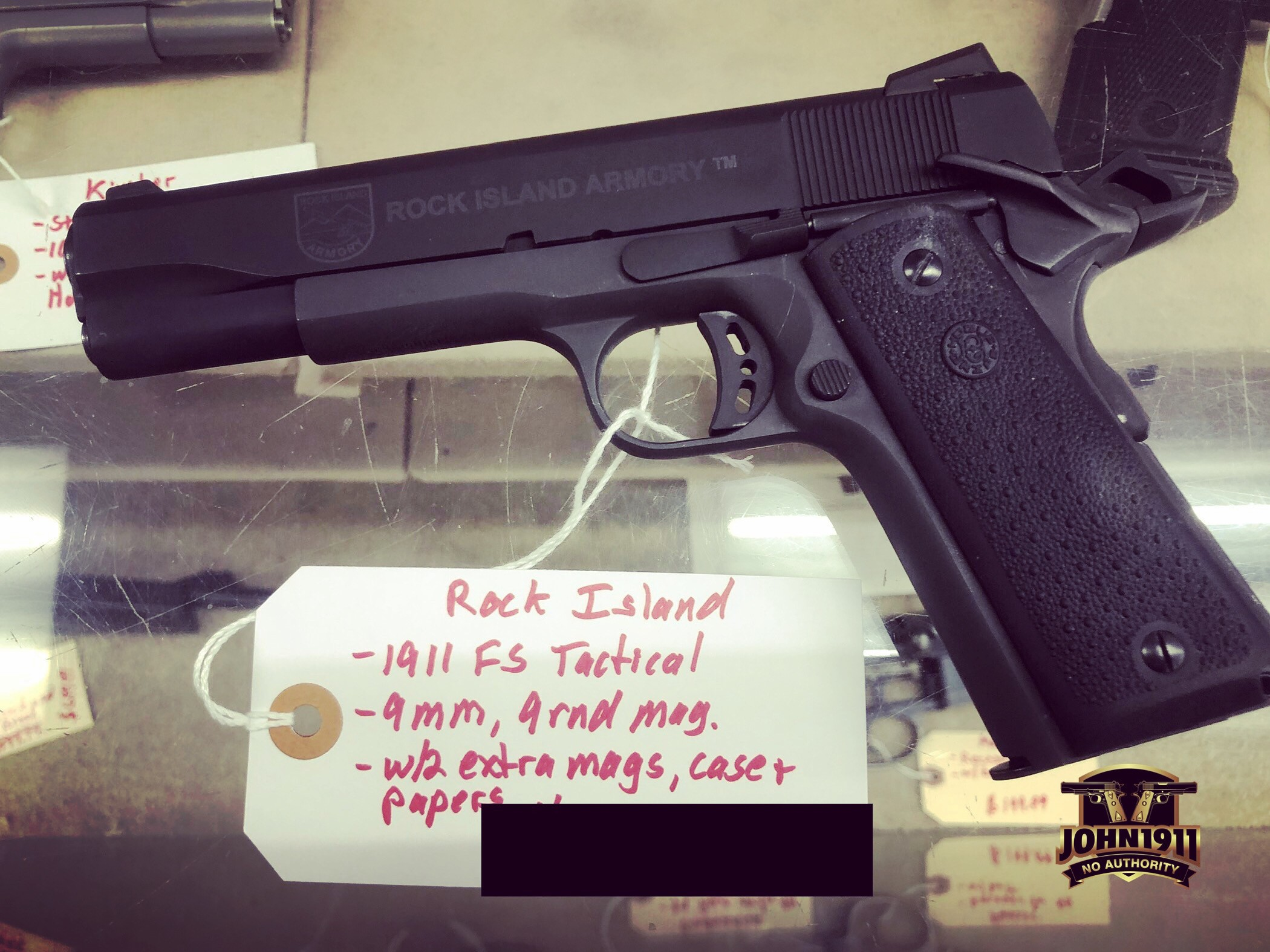 Freeze's RIA 9mm 1911