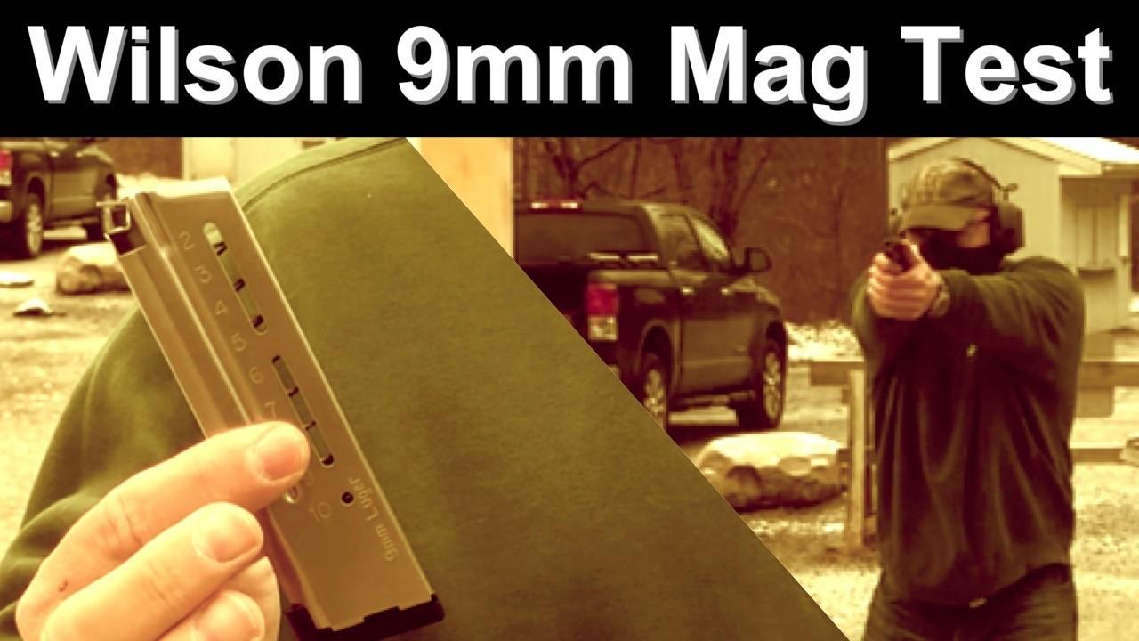 Wilson 9mm 1911 Magazine Test. 10 Rounds.