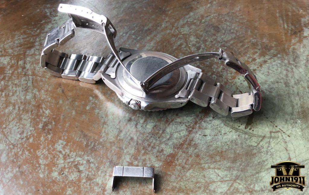 Broken Rolex GMT Master II. Pepsi.