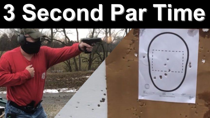 3 second par time. HK Vp9. Shot timer.