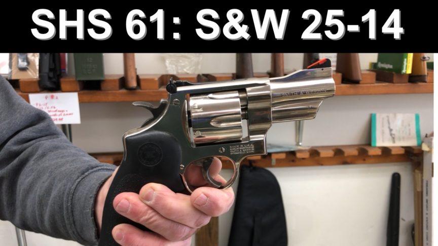 SHS 61: S&W 25-14 Lew Horton Revolver.