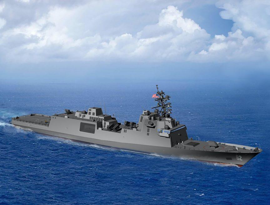US Navy Selects Fincantieri FREMM Frigate Design. FFGx
