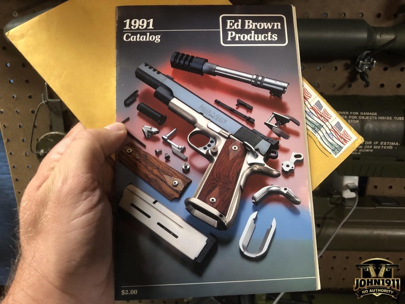 Ed Brown 1991 Catalog