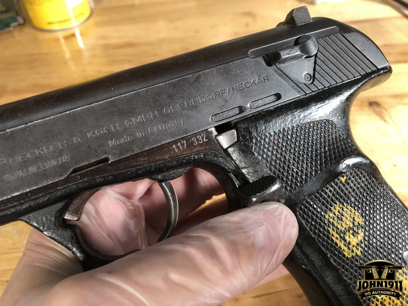 HK P9S Initial Cleaning