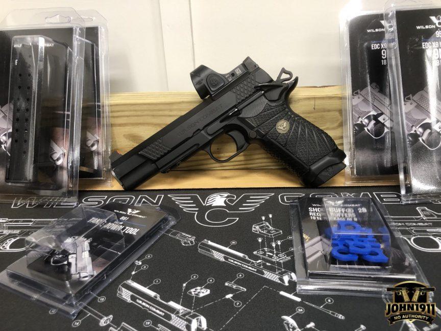 Wilson Combat EDC X9L Magazines, Show-Buffs & takedown Tool.