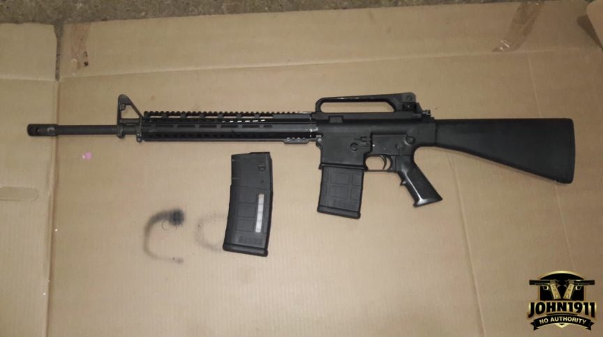 Privately Owned Mexican AR-10 Armalite
