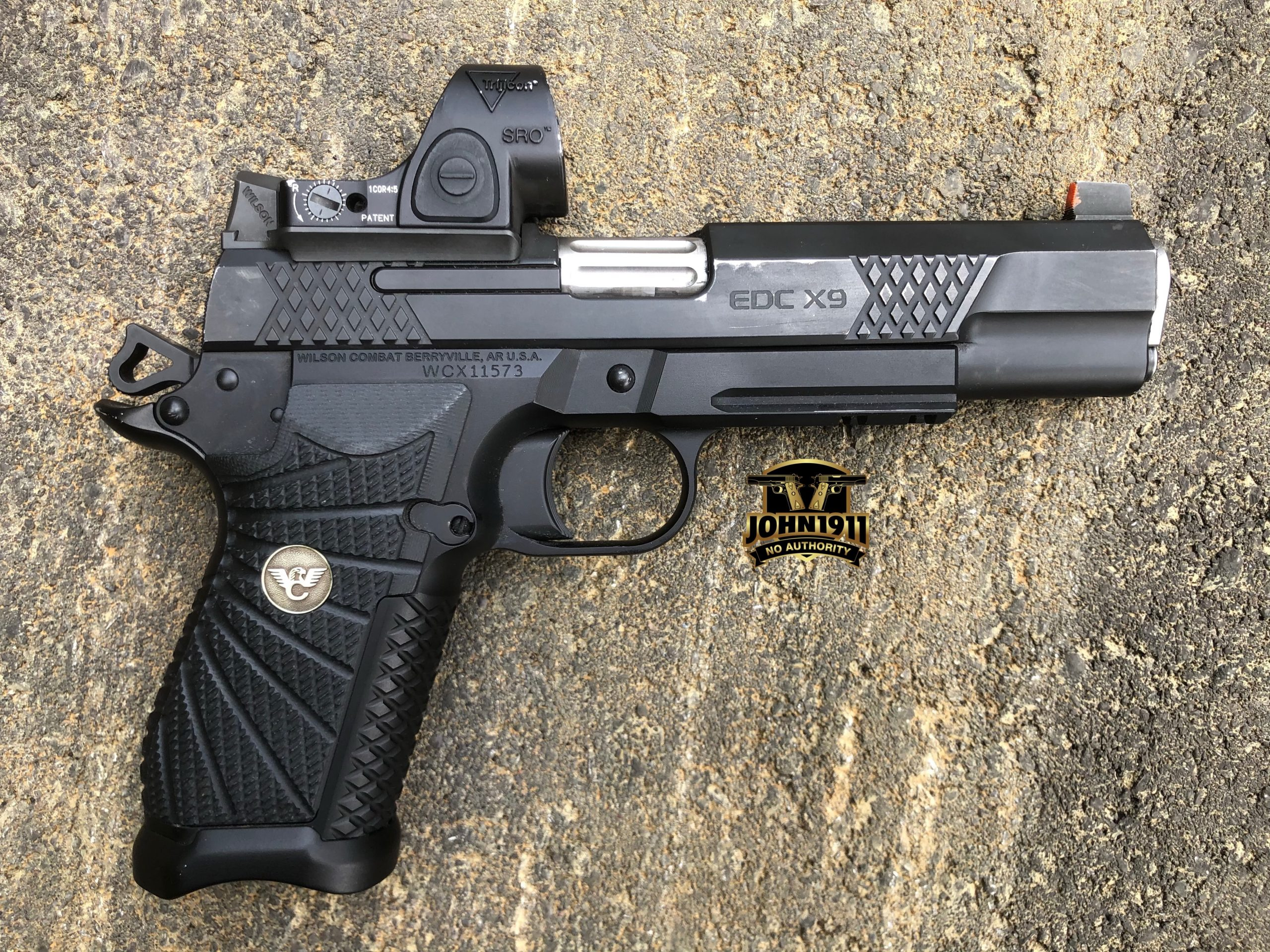 Wilson EDC X9, X9L Holster Wear. The 13 P's of gun wear.