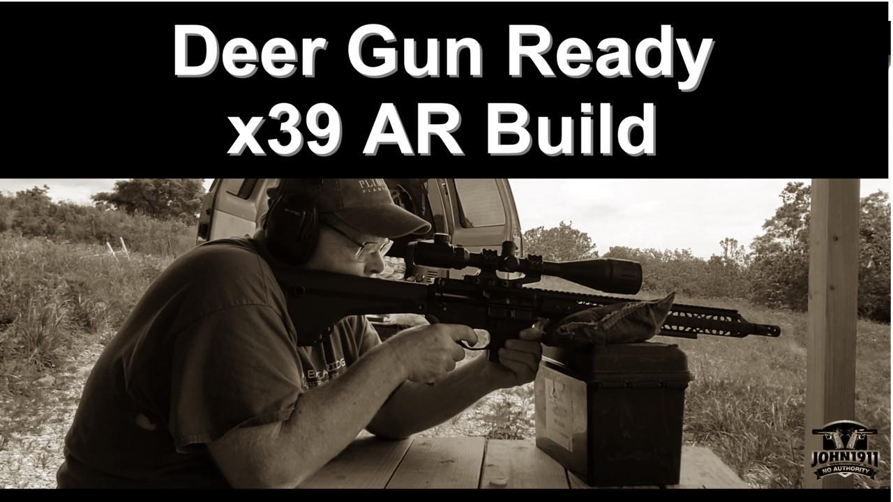 AR-15 Deer Hunting. 7.62x39.