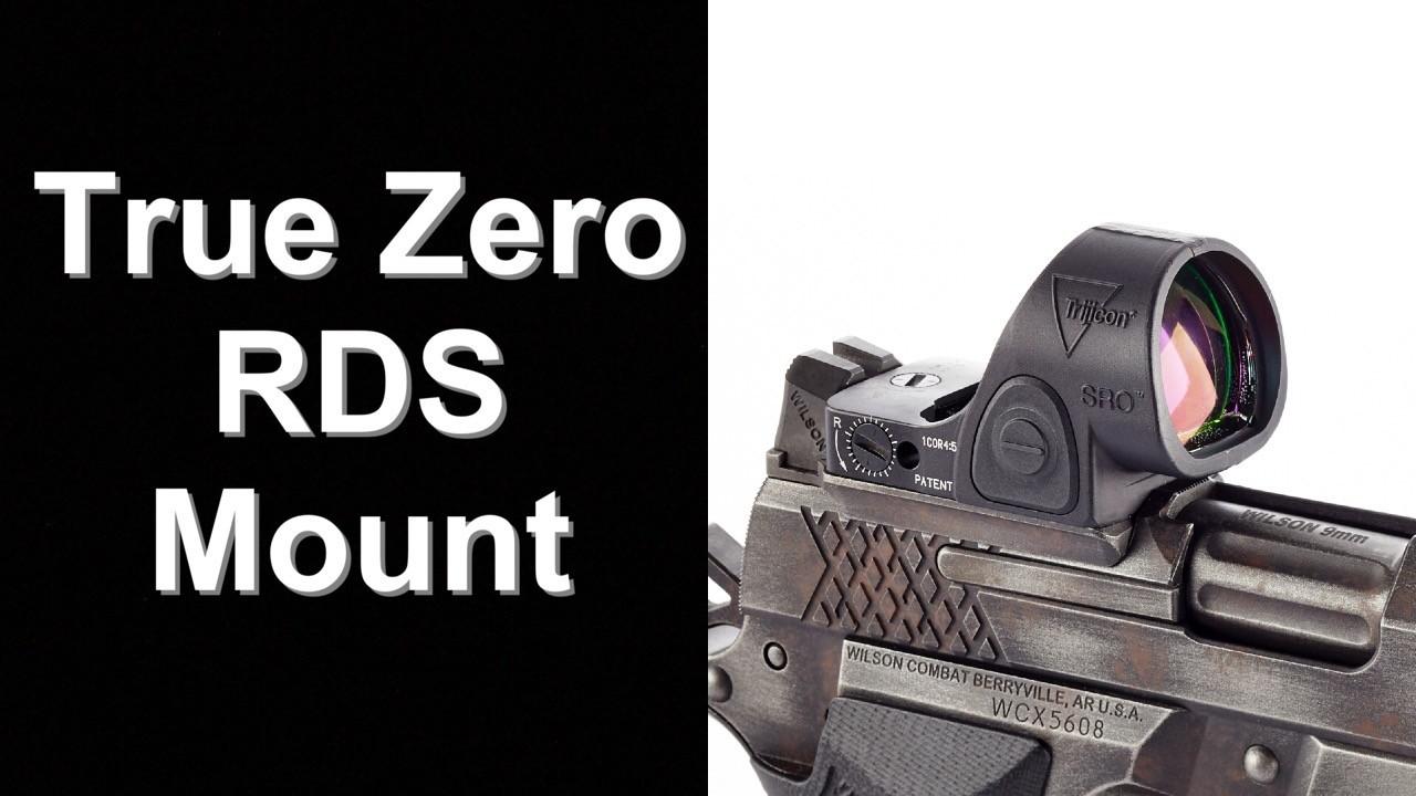 Wilson True Zero RDS Mount