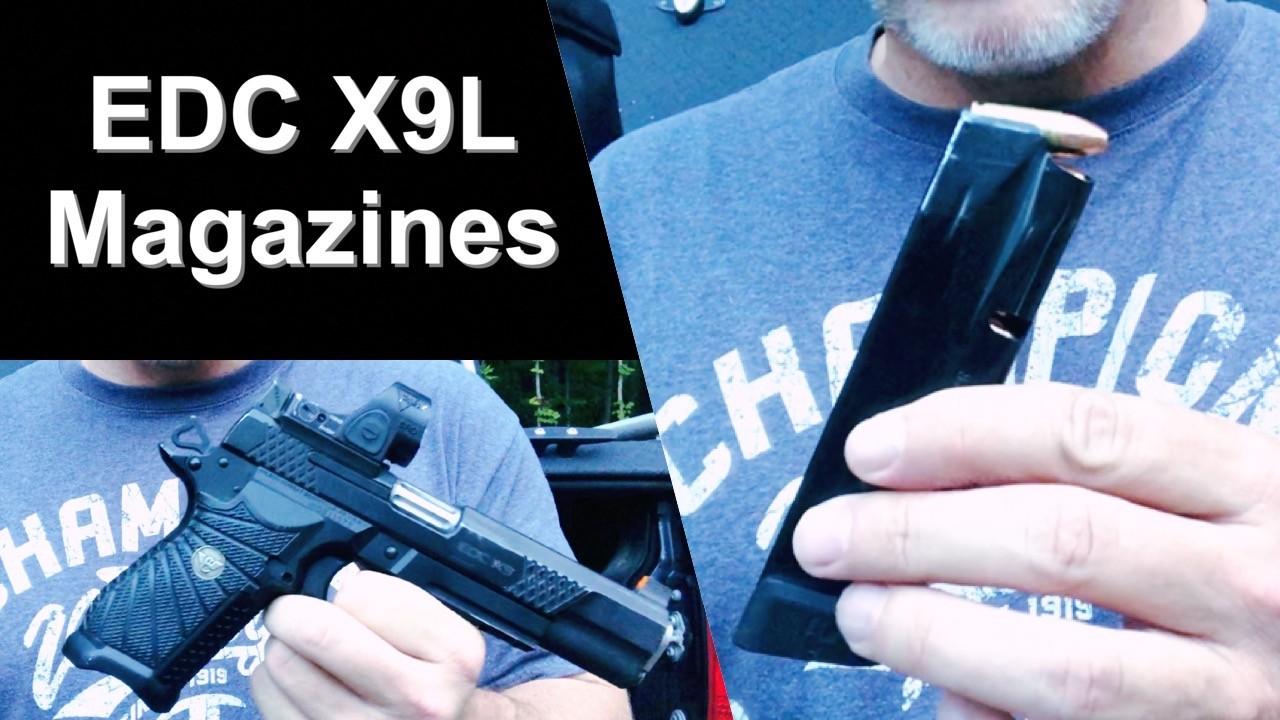 EDC X9L Magazines